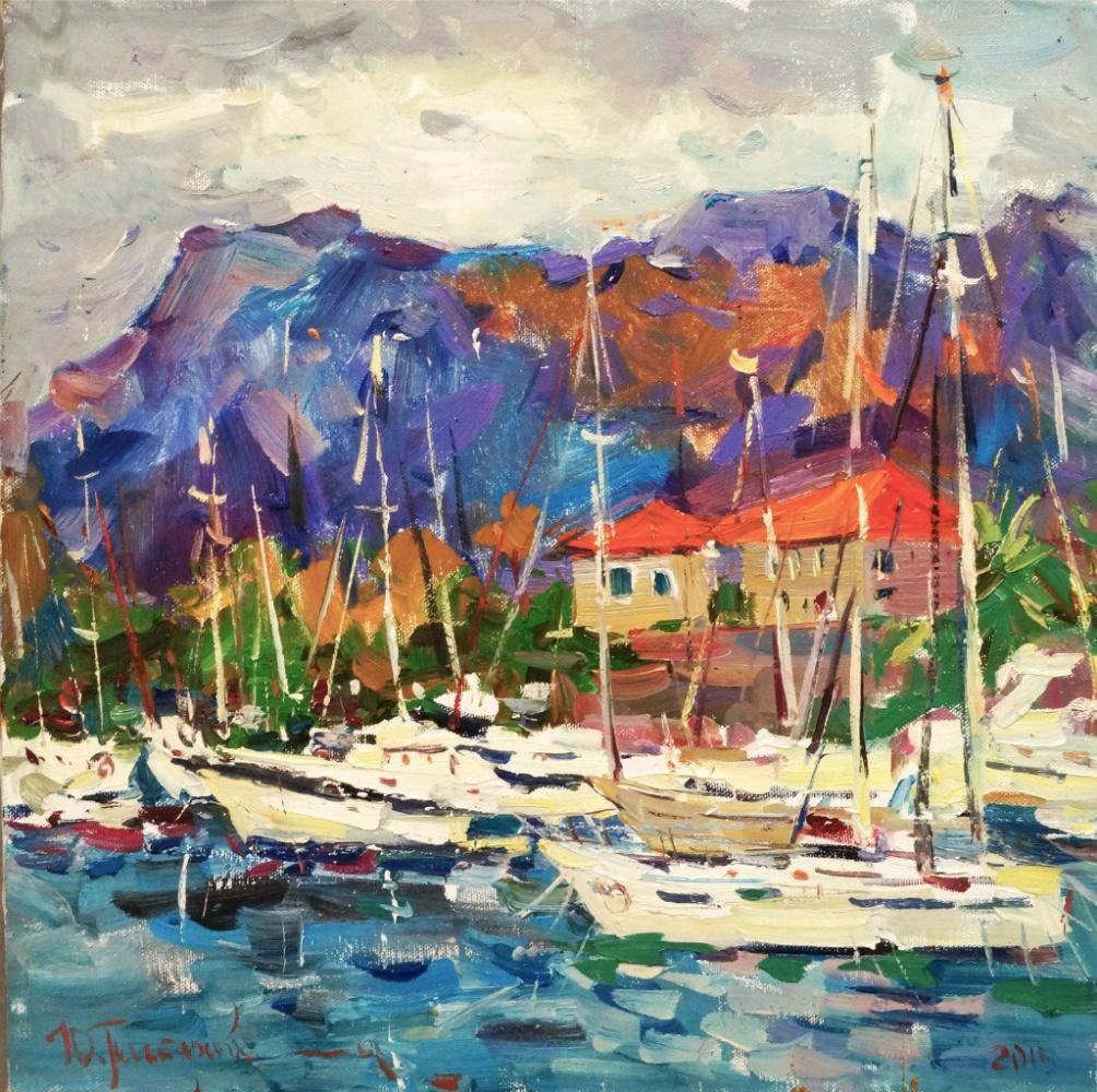 Yulia Pastuhova. Yachts in Kotor