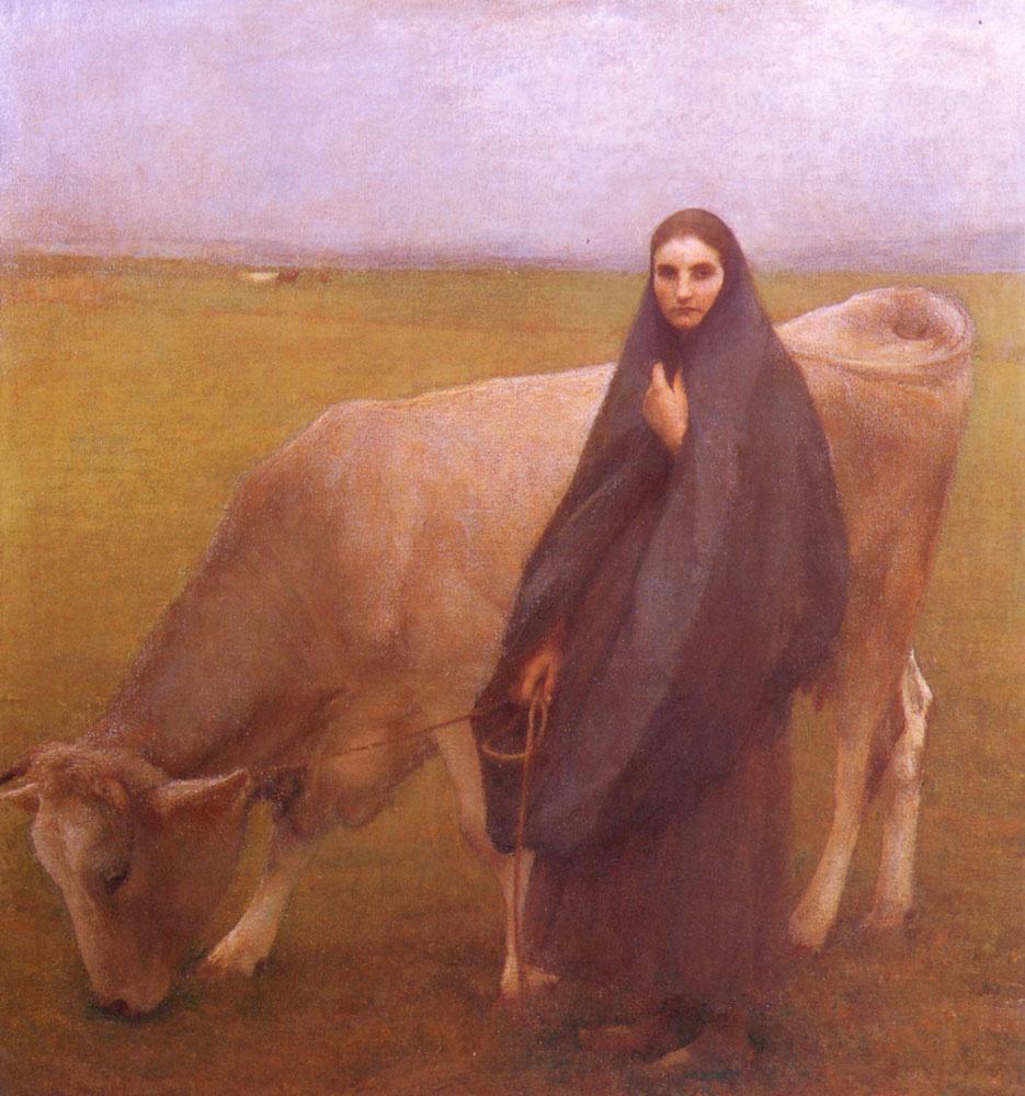 Паскаль Адольф Жан Даньян-Бувре. На лугу