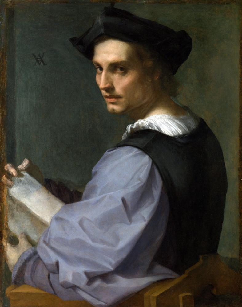 Андреа дель Сарто. Портрет молодого человека
