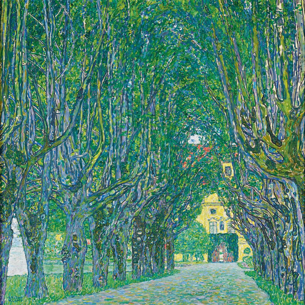 Gustav Klimt. Alley in front of Castle Chamber