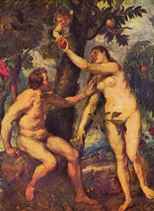 Питер Пауль Рубенс. Адам и Ева