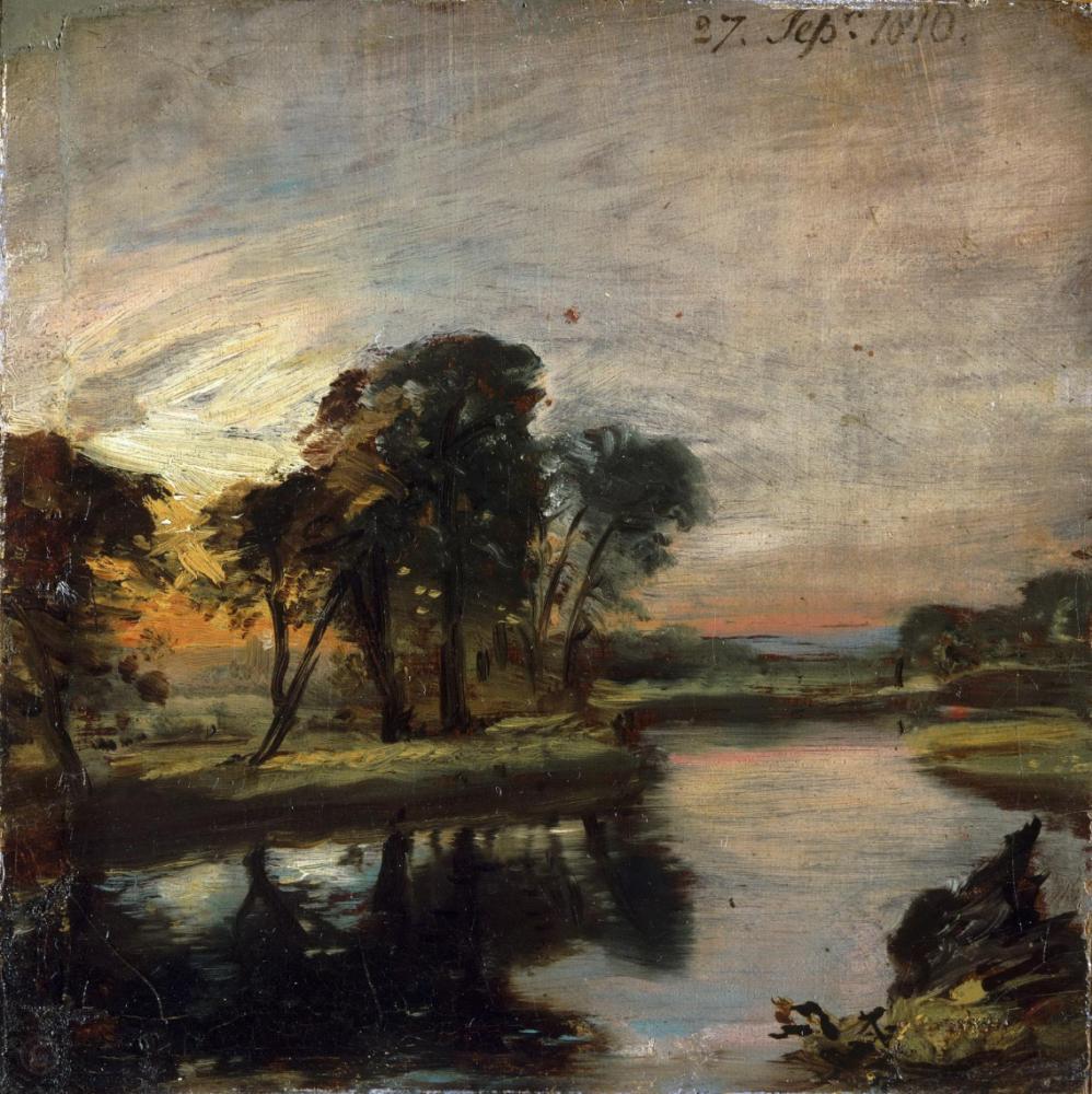 John Constable. River Stur. Museum of Art, Philadelphia.