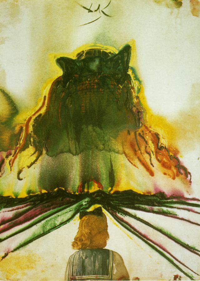 Salvador Dali. Gala's Dream. The dream of Paradise