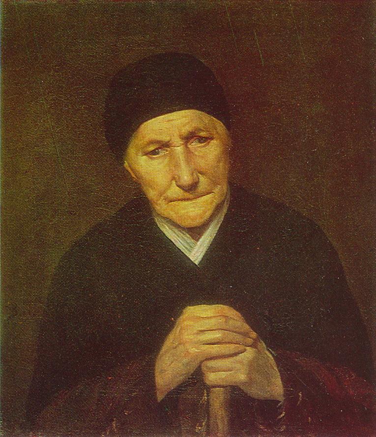 Василий Григорьевич Перов. Портрет старухи