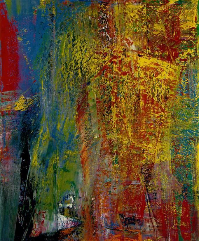 Gerhard Richter. Courbet