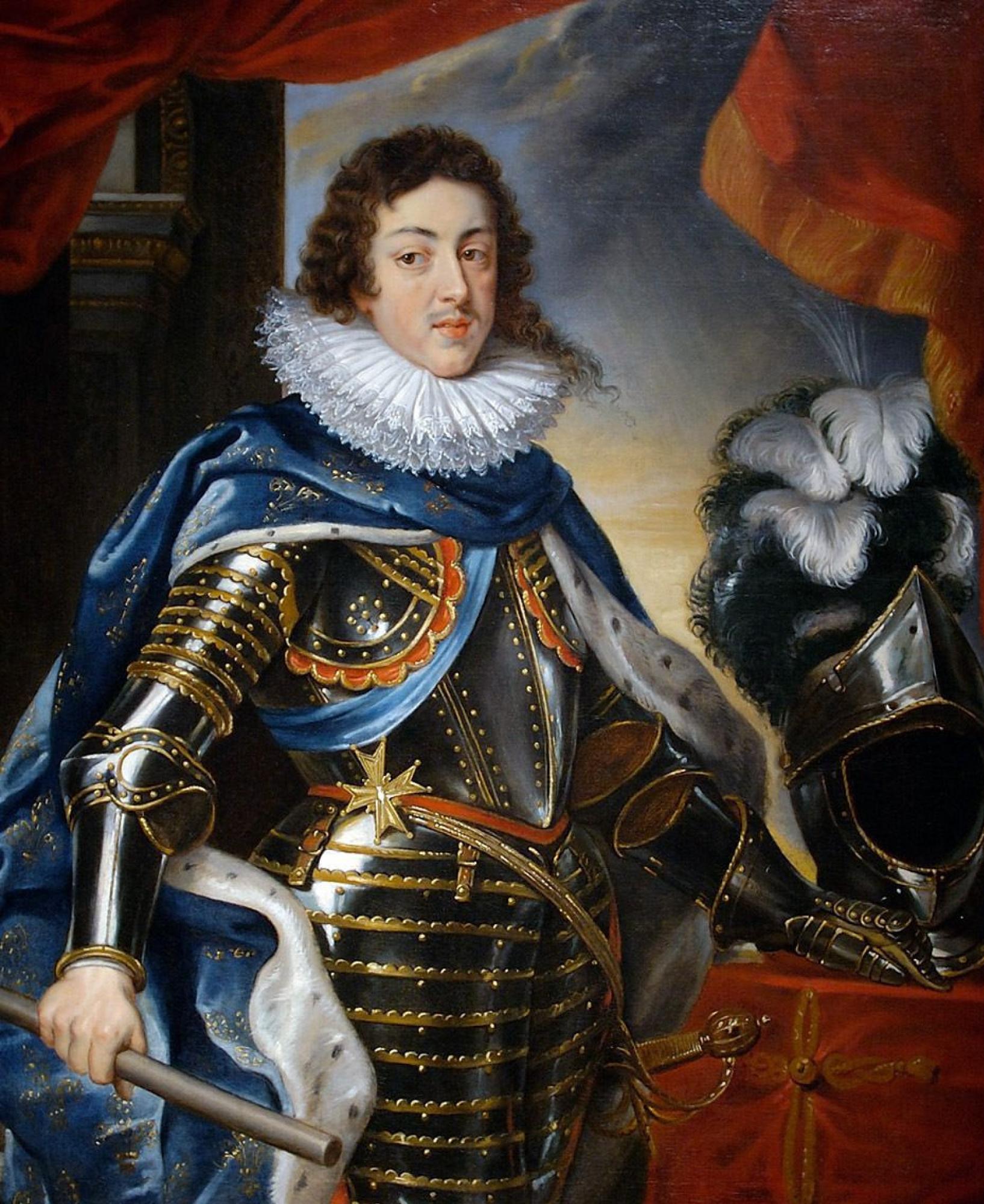 Питер Пауль Рубенс. Портрет Людовика ХІІІ, короля Франции