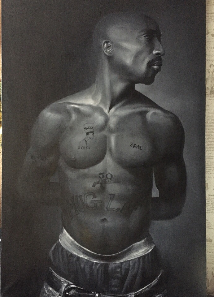 Анастасия Ораина. 2 pac portrait to order