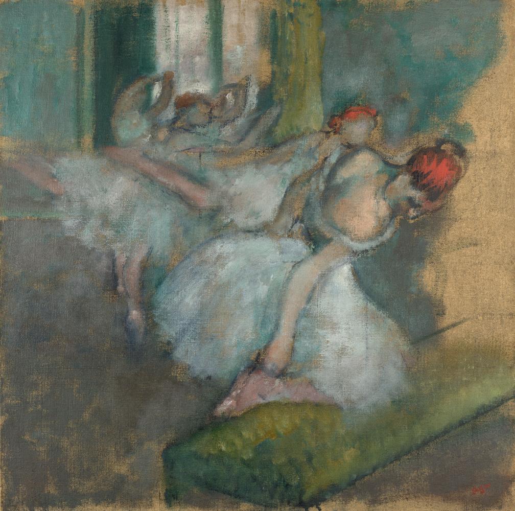 Эдгар Дега. Артисты балета