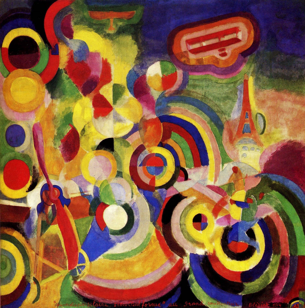 Robert Delaunay. Homage to Blériot