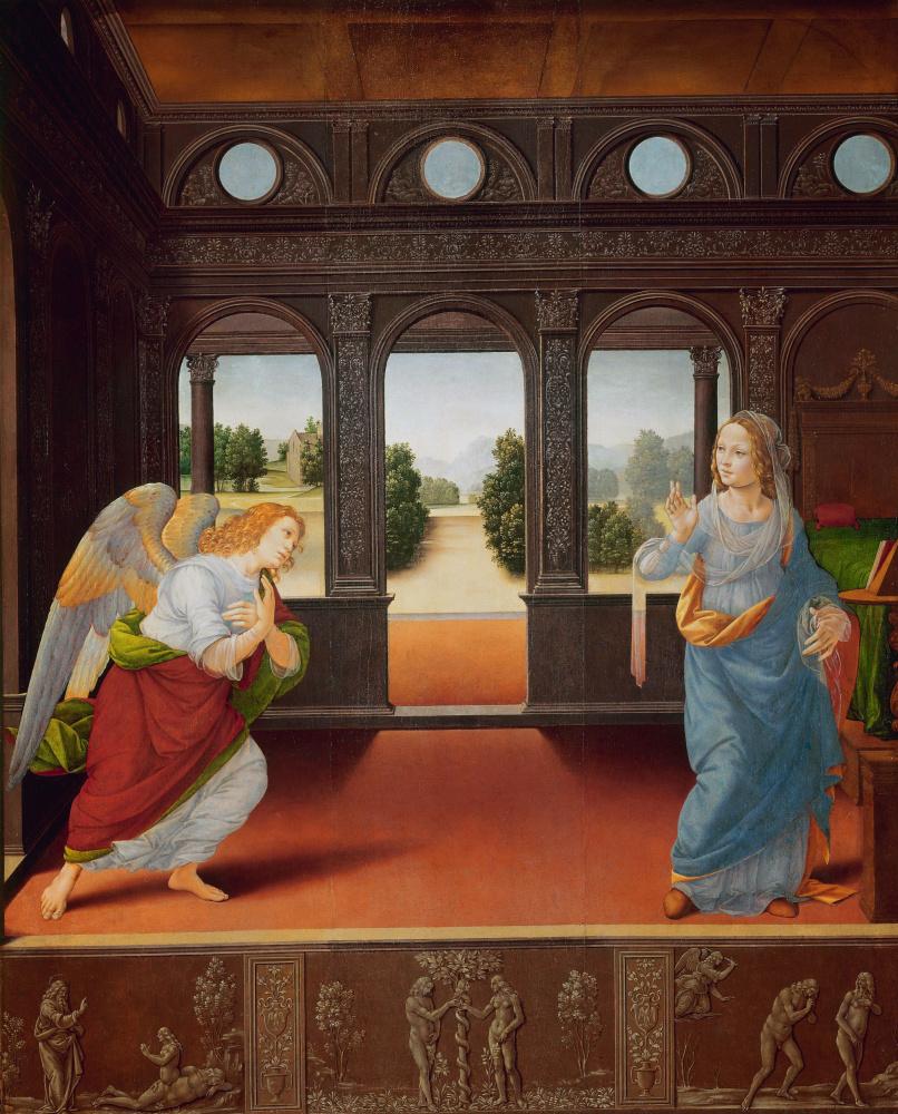Lorenzo di Credi. The Annunciation