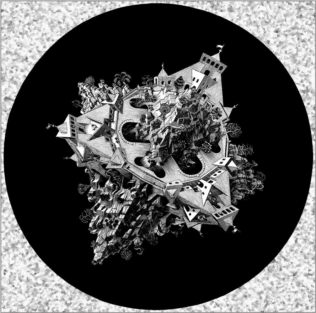 Мауриц Корнелис Эшер. Двухместный планетоид