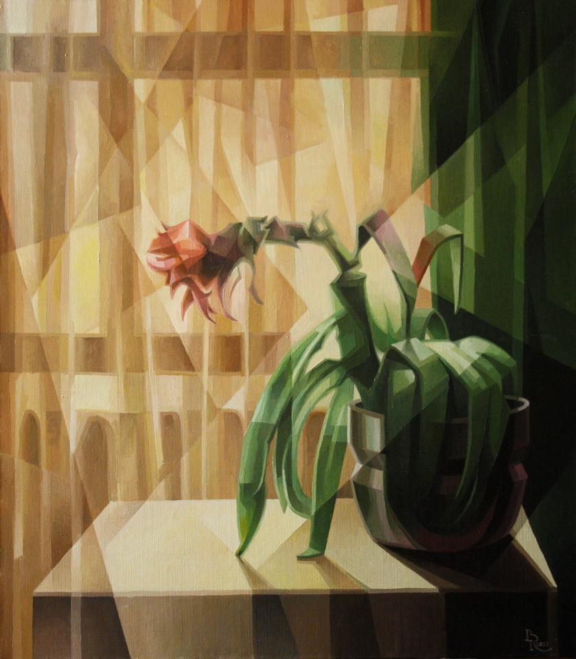 Vasily Krotkov. Аленький цветочек. Пост-кубофутуризм