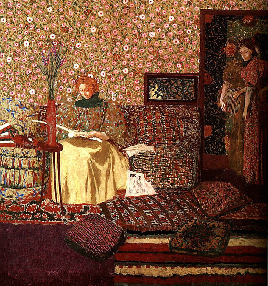 Jean Edouard Vuillard. Ladies in the room
