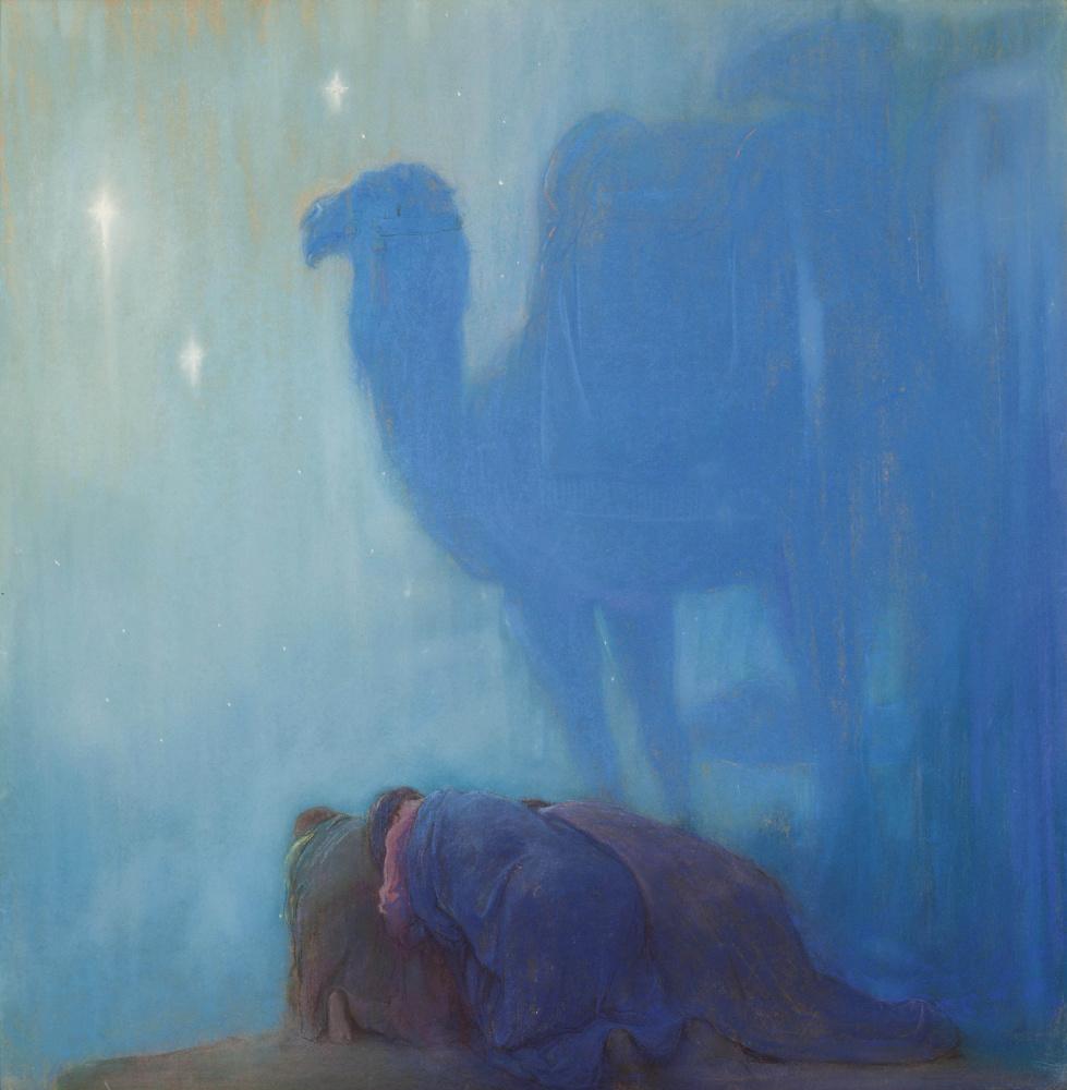 Arild Rosencrantz. Prayer in the desert