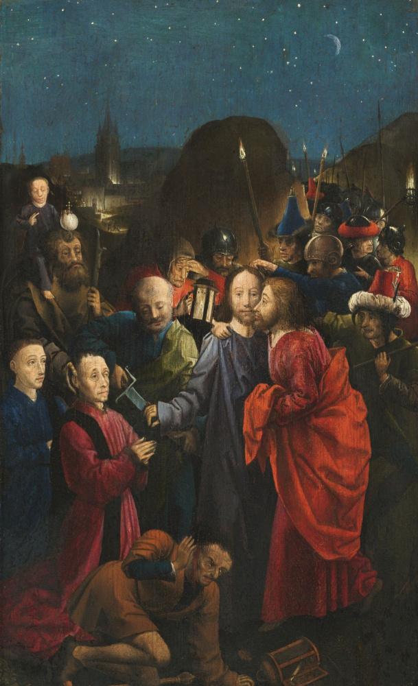 Мастер  Дре Буде. Предательство и взятие Христа под стражу