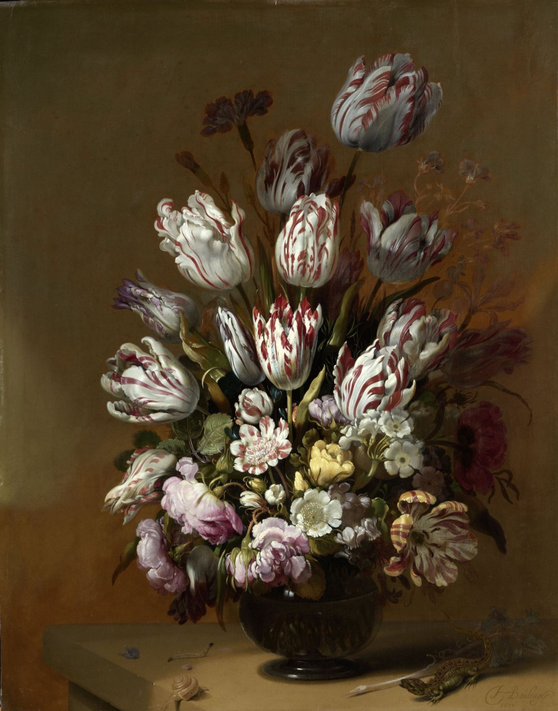 Hans Gillis Bolognaire. Floral still life