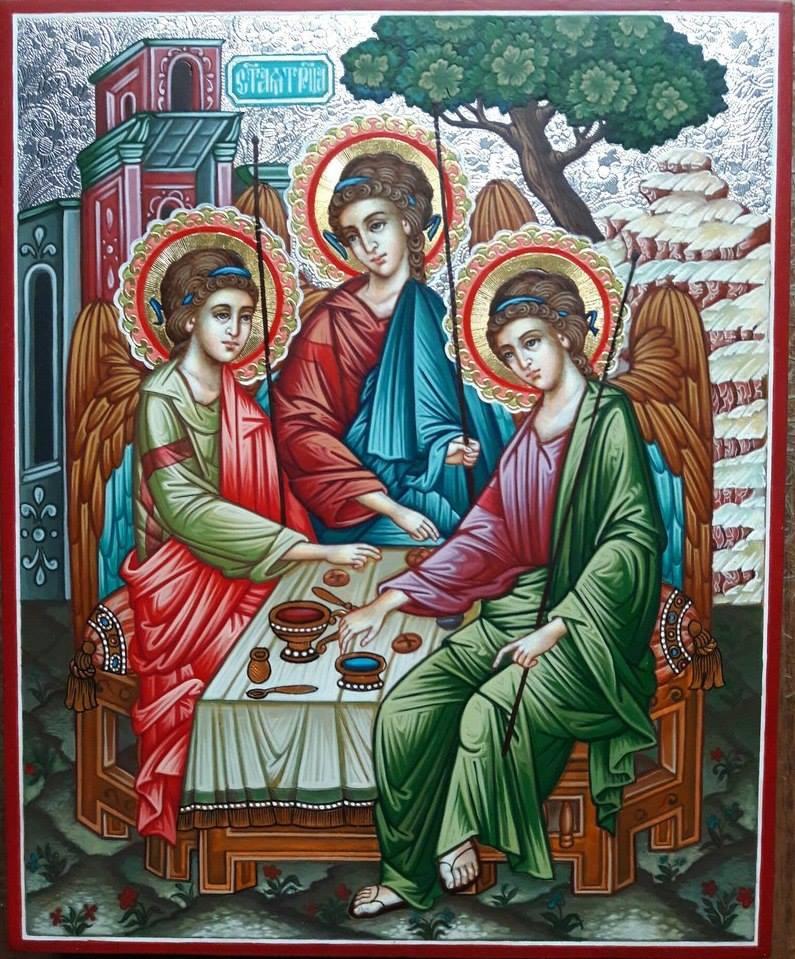 Alexander Alekseevich Zubko. Icon of the Holy Trinity