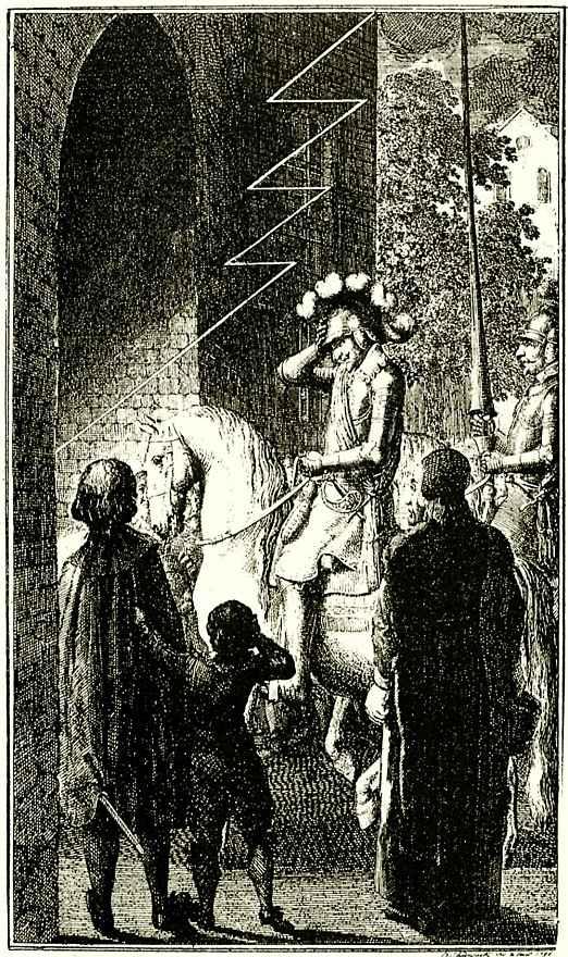 Даниэль  Николай Ходовецкий. Иллюстрация к Немецкому ежемесячнику