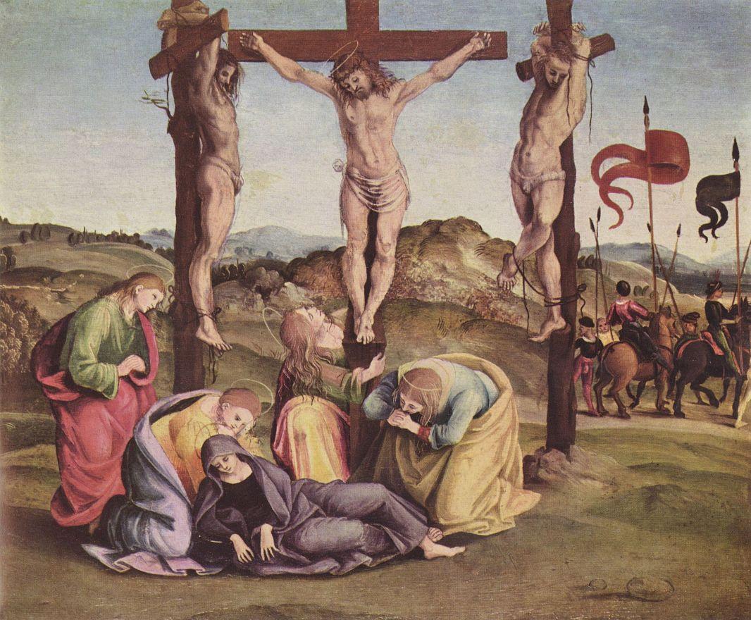 Luke Signorelli. The crucifixion