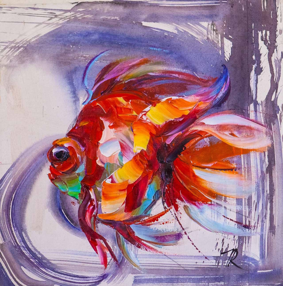 Jose Rodriguez. Goldfish for the fulfillment of desires N20