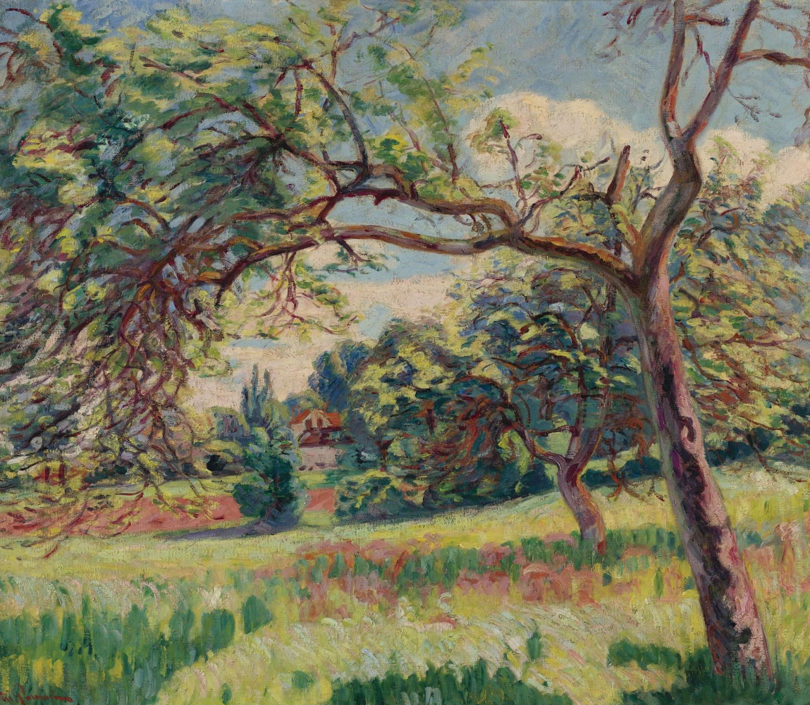 Armand Guillaumin. Landscape