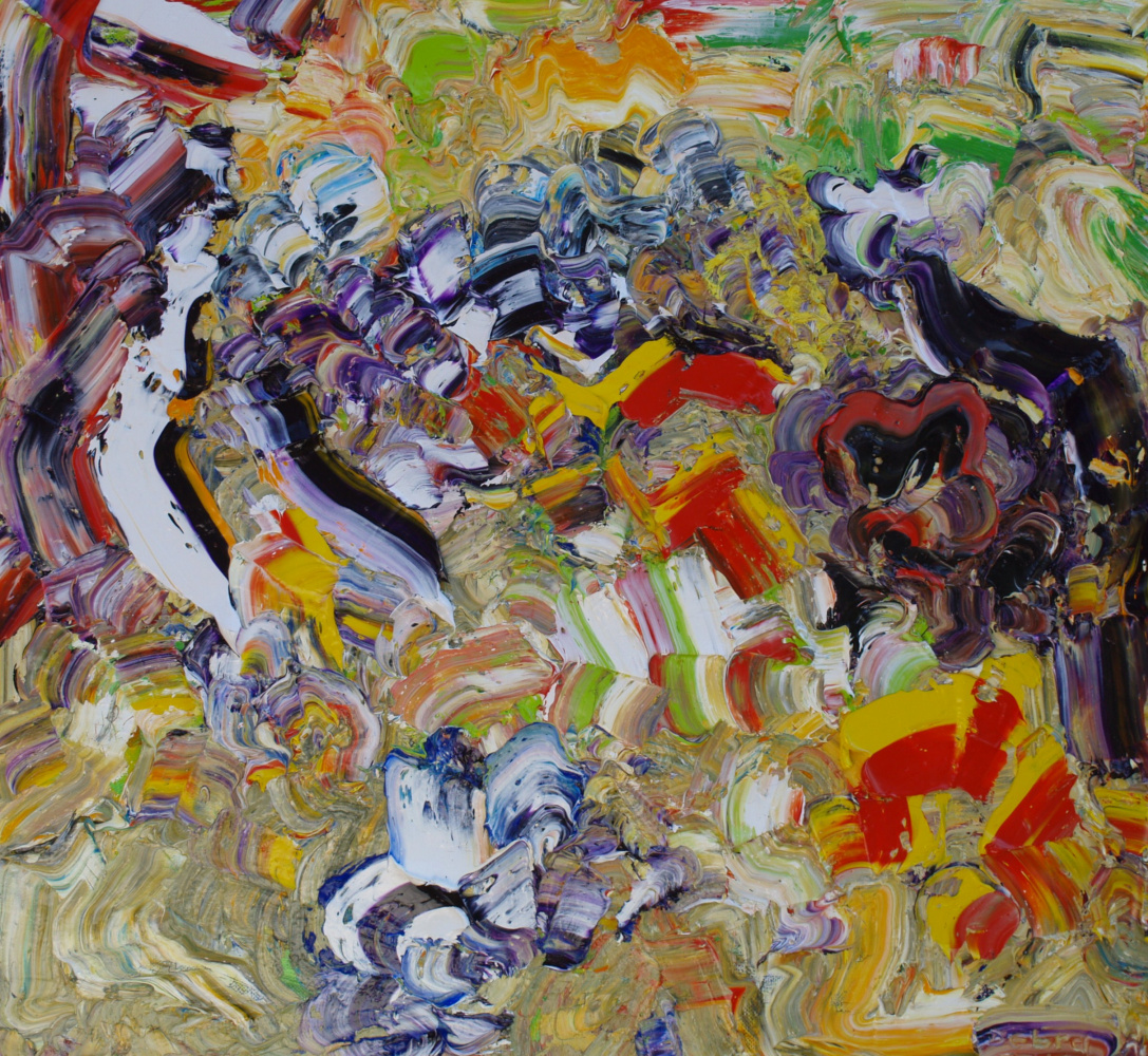 Alexander Ocher Kandinsky-DAE. The descent into hell