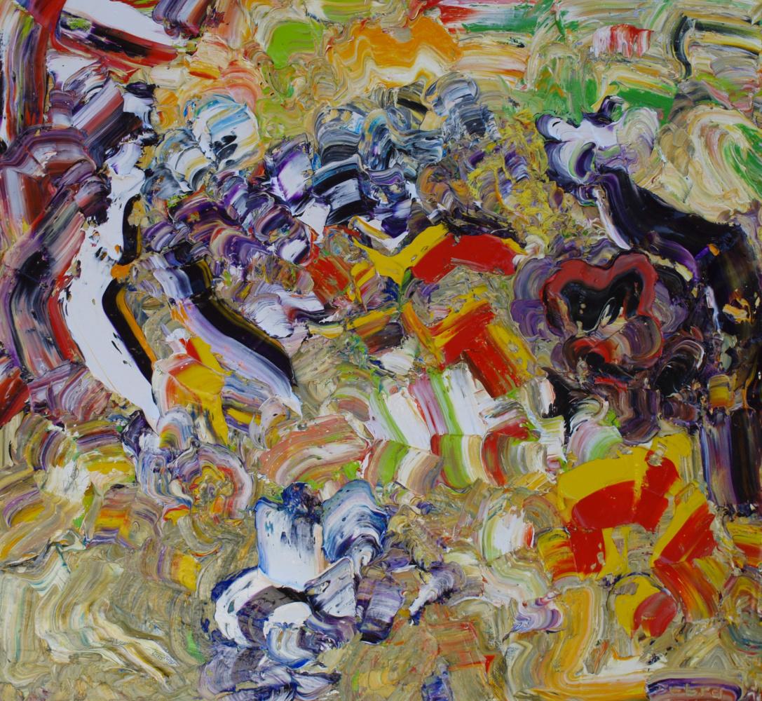 Alexander Ocher Kandinsky-DAE. The descent into hell