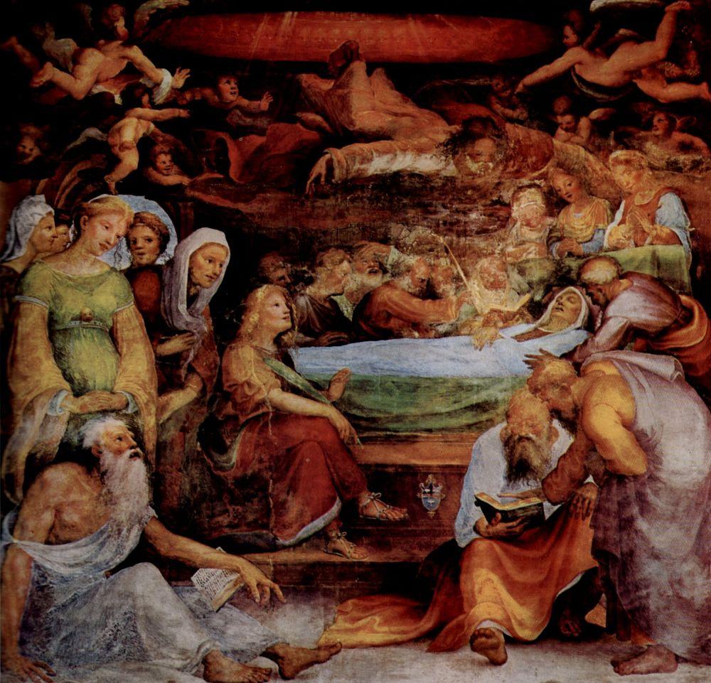 Доменико Беккафуми. Смерть Марии