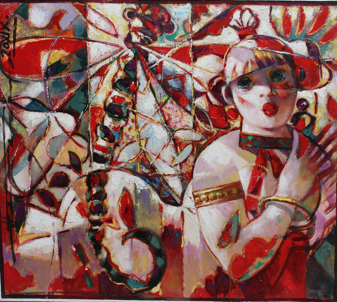 Nikolay Nikolaevich Prokopenko. Summer Dragonflies