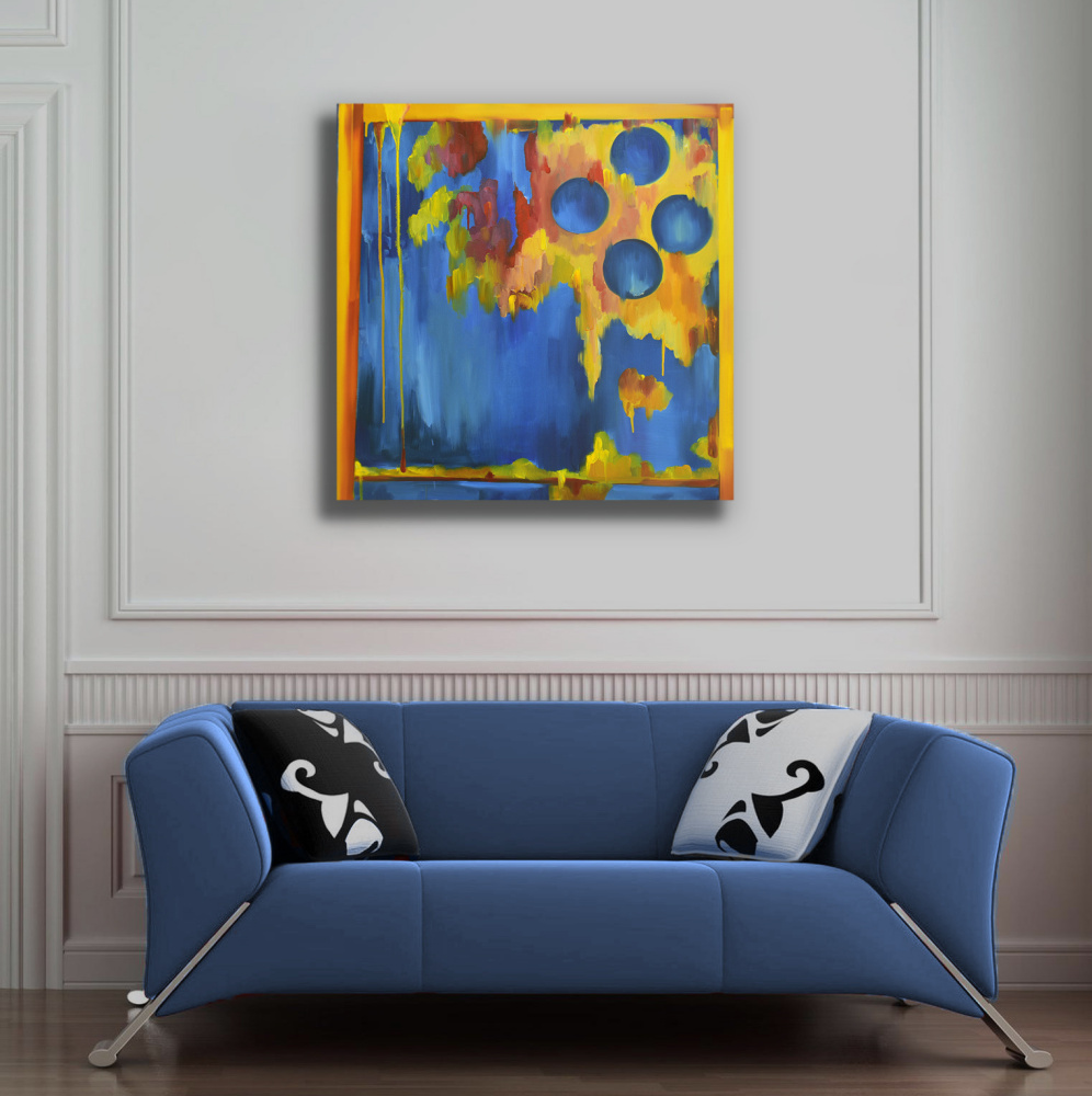 FOUR WISHES - original oil painting