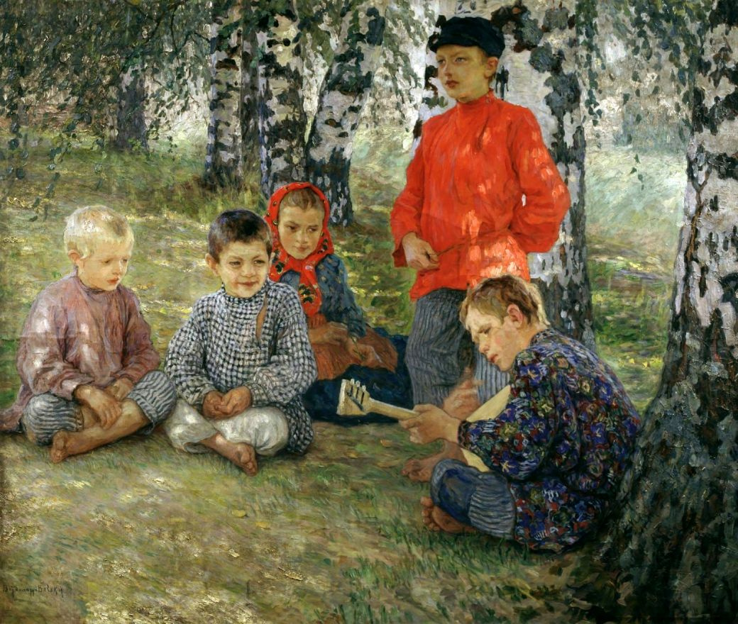 Николай Петрович Богданов-Бельский. Виртуоз