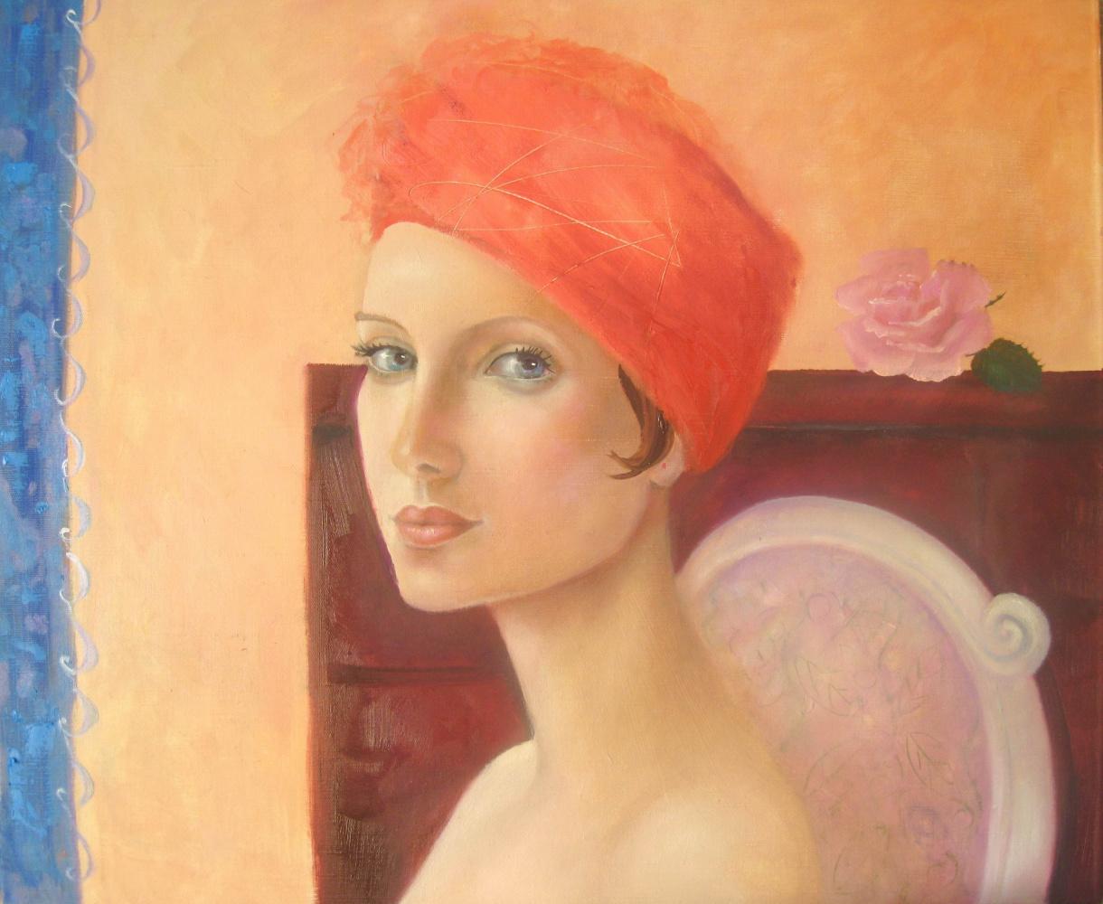Elena Yuryevna Glushkova. Portrait Of A Stranger