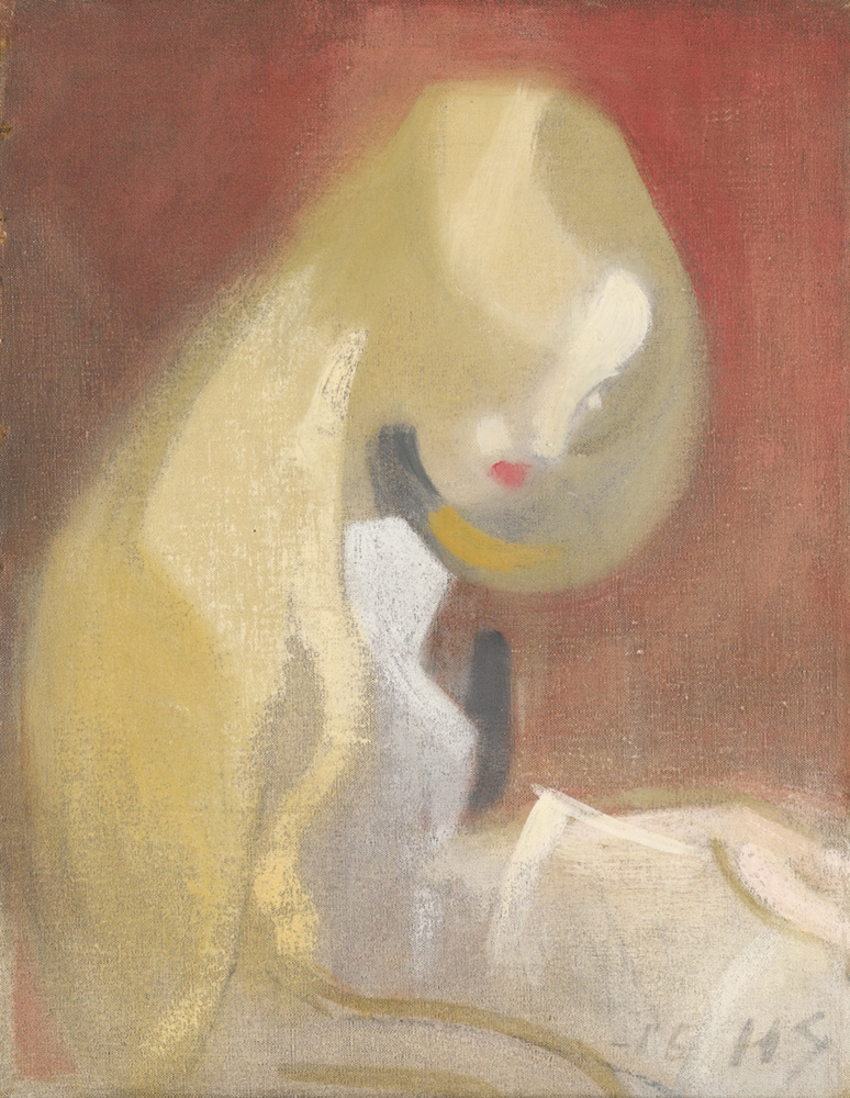 «Девушка с белыми волосами» (1916)