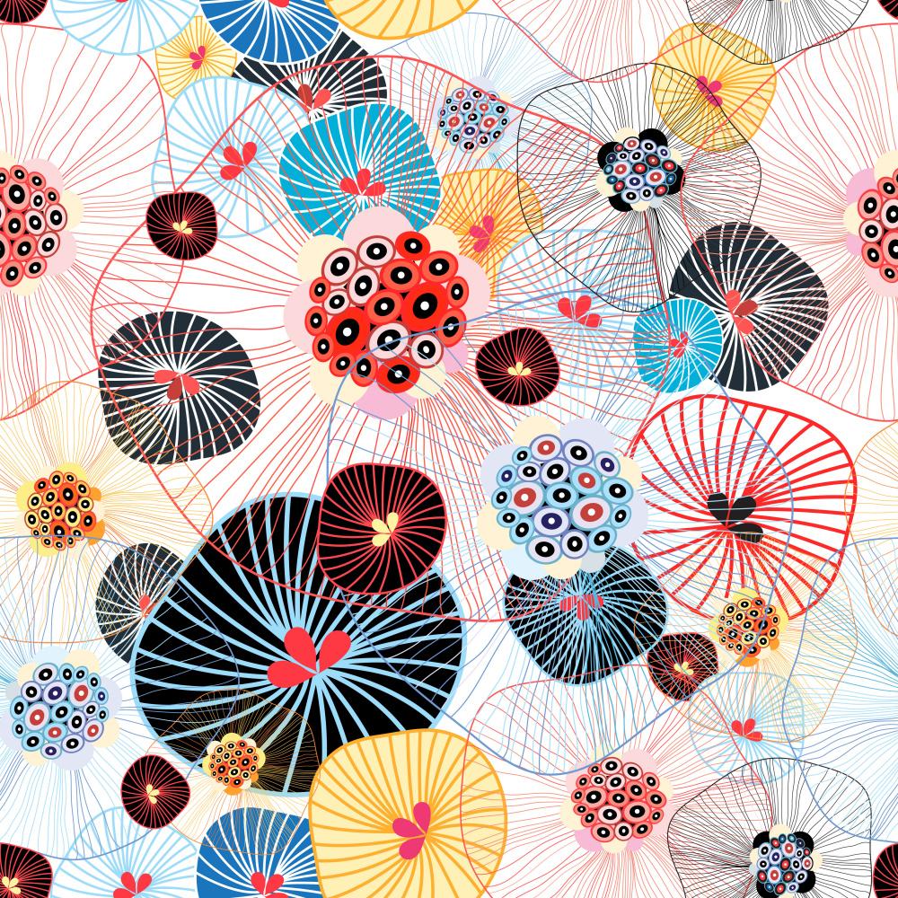 Tatyana Vladimirovna Korchemkina. Abstract pattern
