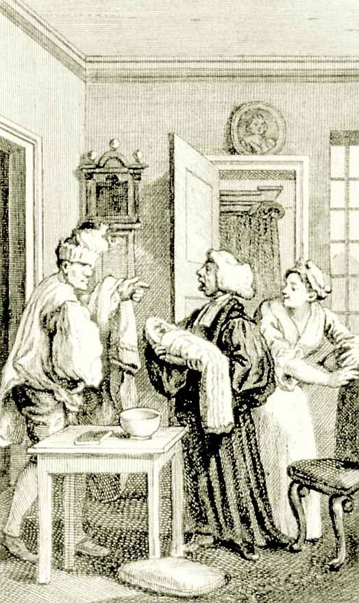 Уильям Хогарт. Крещение