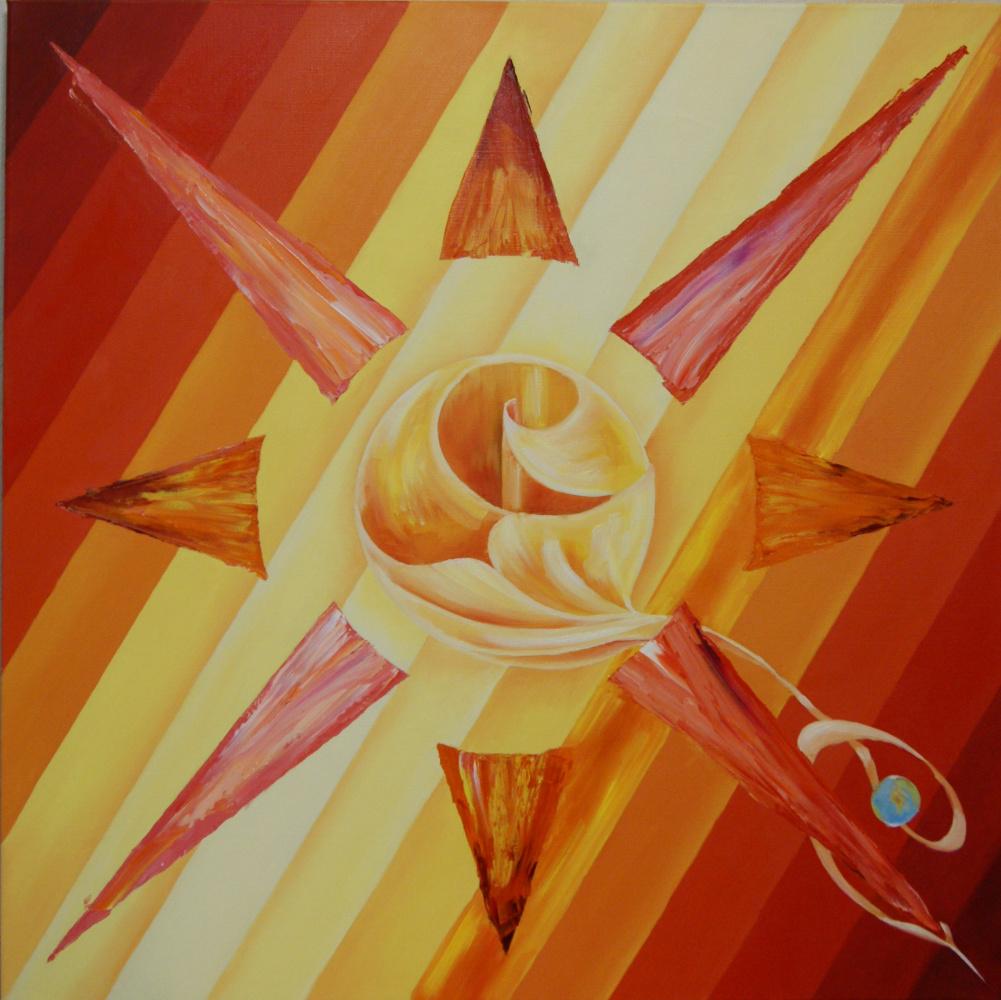 Julia Yuryevna Belyaeva. Sun fire