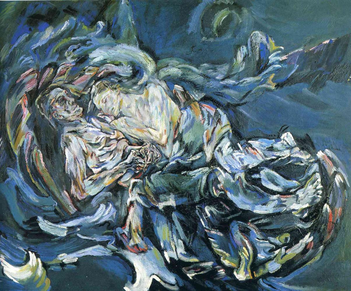Oskar Kokoschka. Bride of the wind