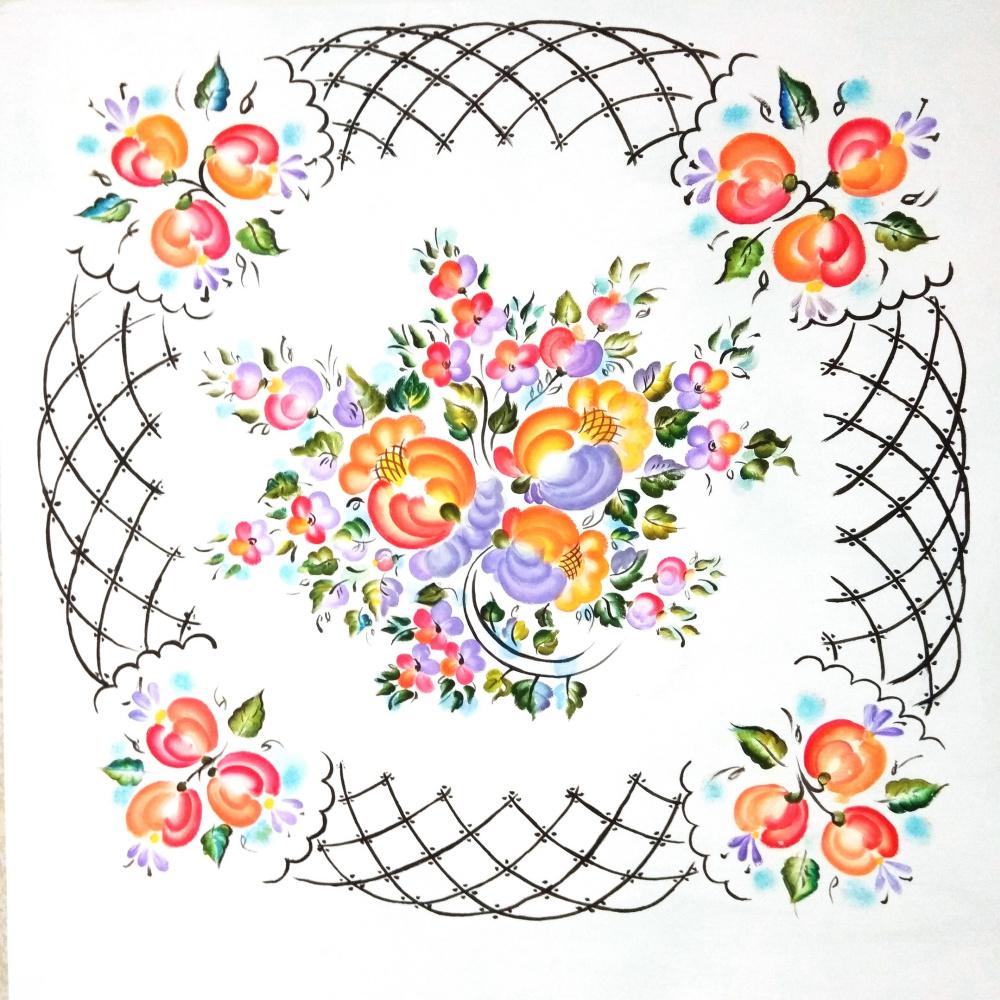 Alina Petrovna Chaplygina. Blooming Garden 2