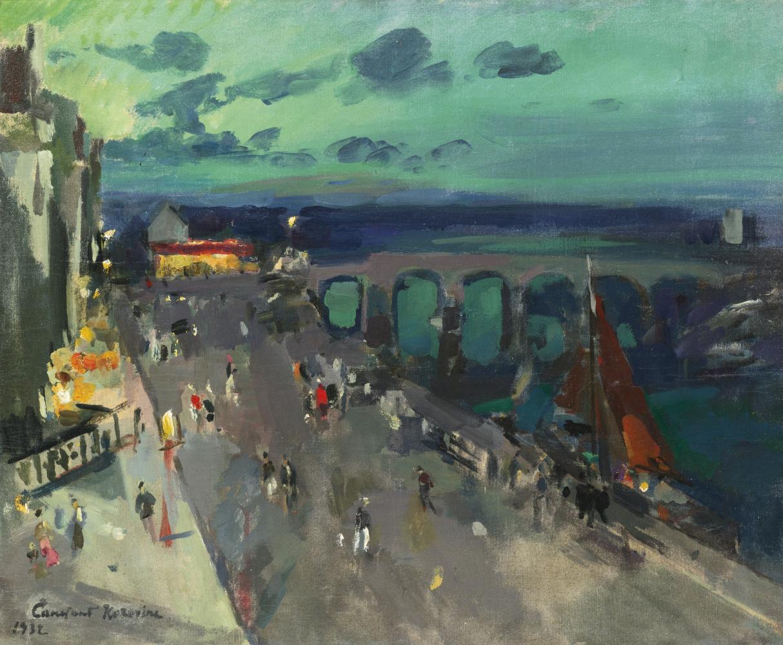 Konstantin Korovin. Embankment