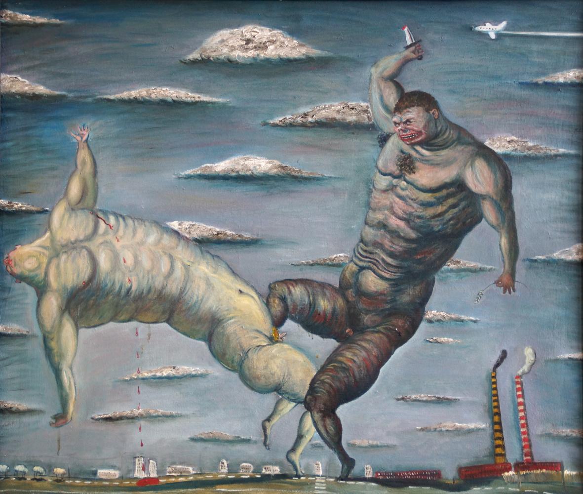 Sergey Viktorovich Solomatin. Cain and Abel