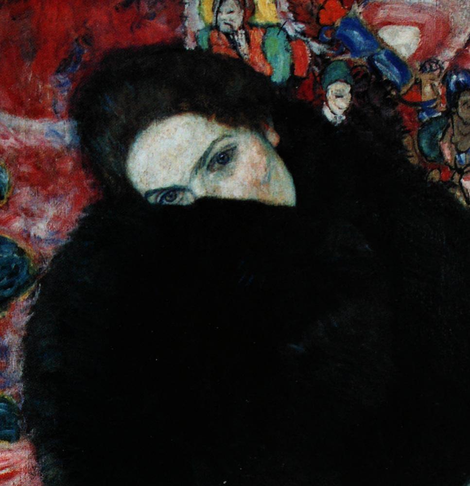 Густав Климт. Дама с муфтой