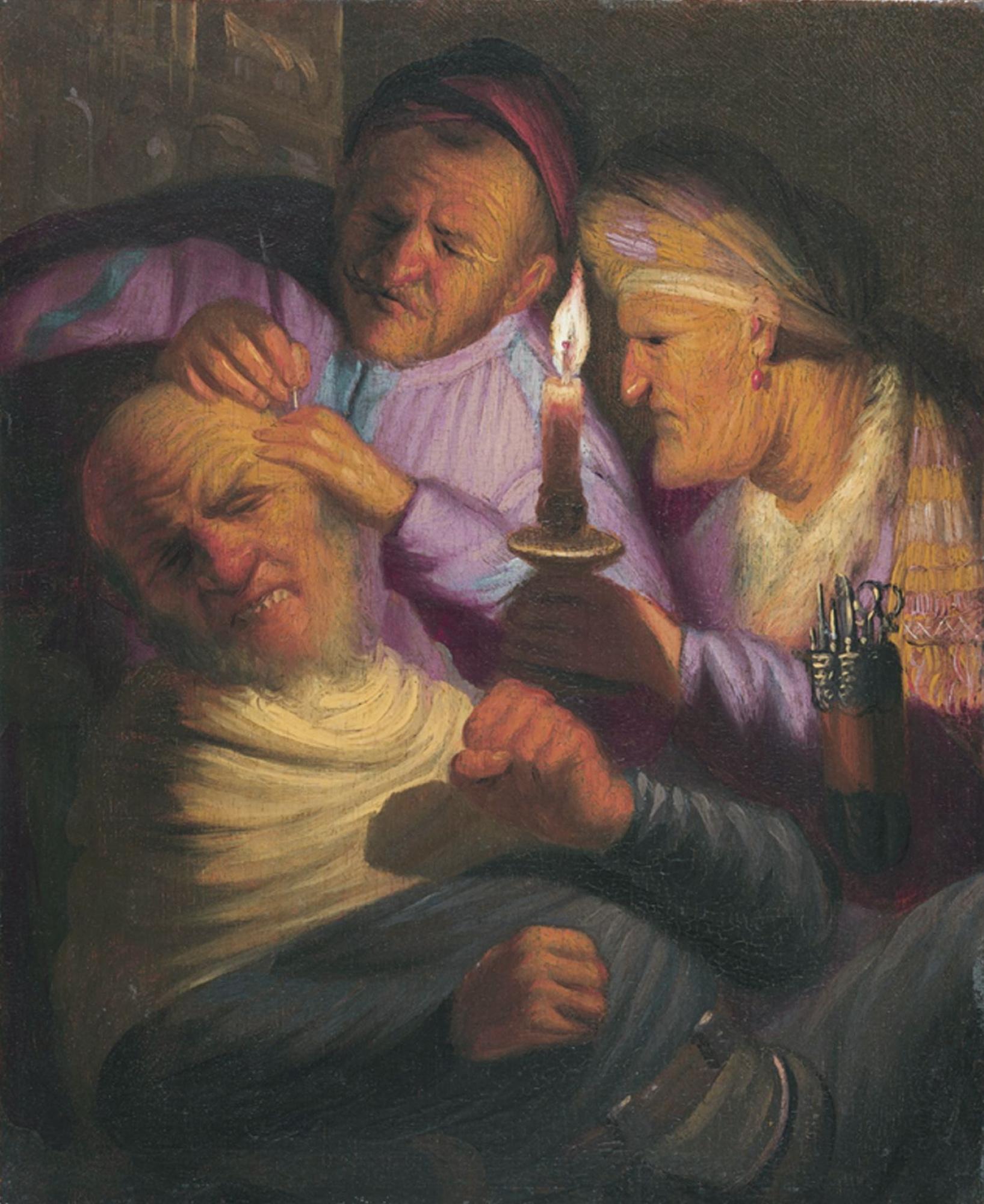 Рембрандт Харменс ван Рейн. Операция (Прикосновние)