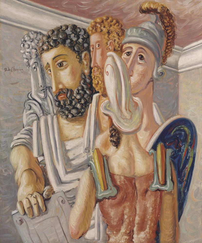 Giorgio de Chirico. Warriors and philosophers