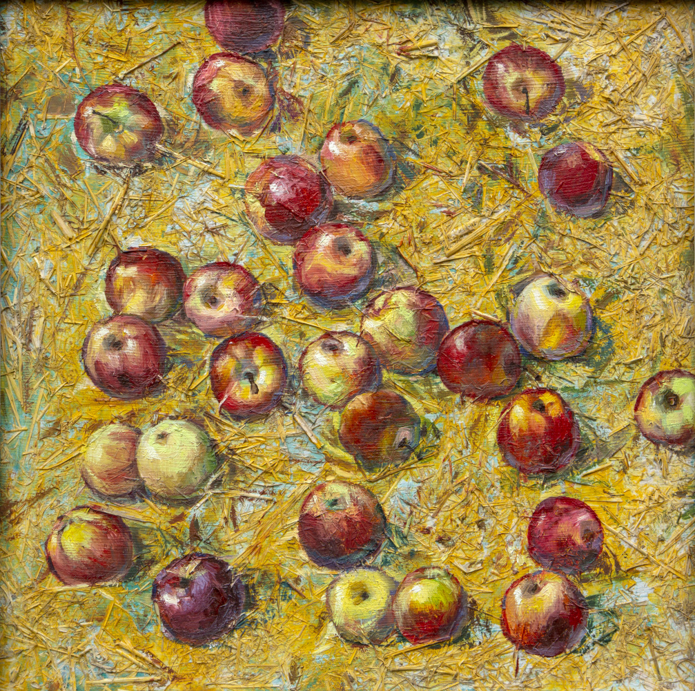 Rinat Salimzyanovich Khanafeev. Apples Anar-Aryk