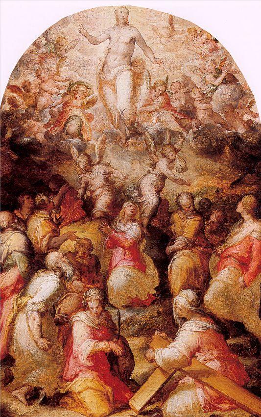 Giovanni Battista Naldini. The Savior