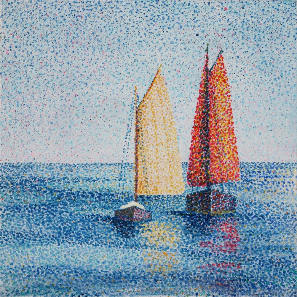 Natalia Bagatskaya. Morning at sea