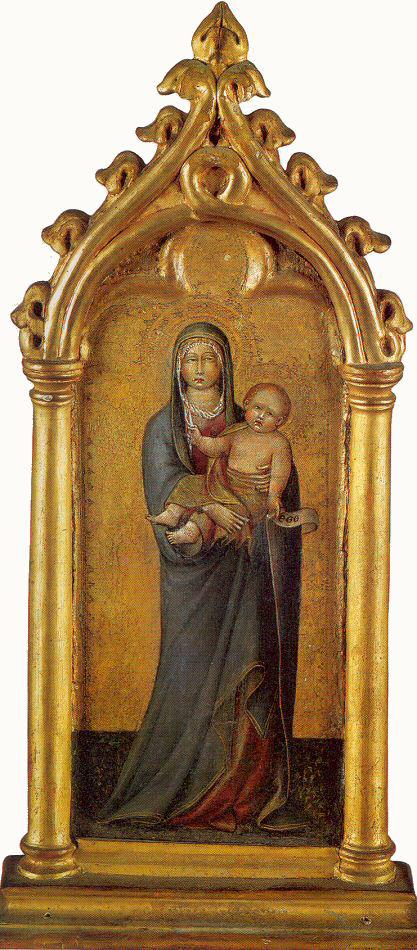 Джованни ди Паоло. Богородица с младенцем