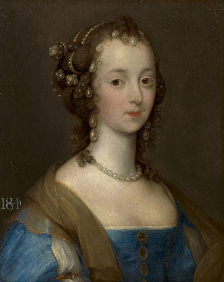 Remigius van Lemput. Portrait of a lady, now identified as Margaret Smith, Mrs. Thomas Carey, later Lady Herbert