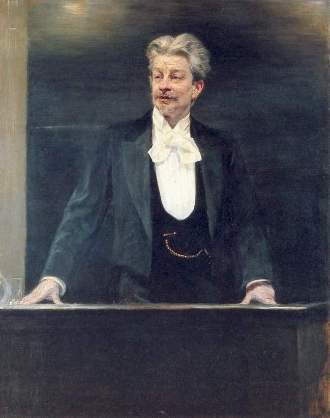 Peder Severin Krøyer. Georg Brandes
