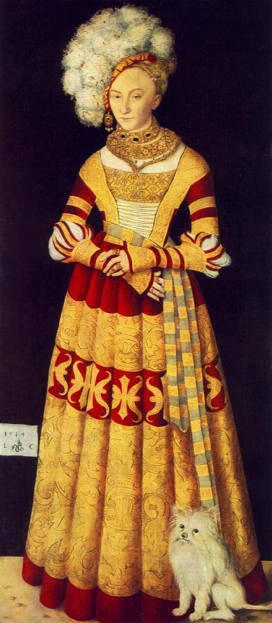 Лукас Кранах Старший. Принцесса Карина Мекленбург